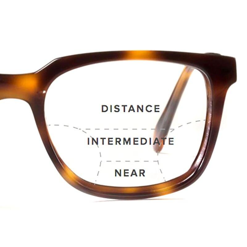 Freies Optische Männer Ar 67 Logorela Progressive Uv400 Brillen form 1 Digitale beschichtung Und Asphärische Index Frauen Brillenglas 6g81qwI