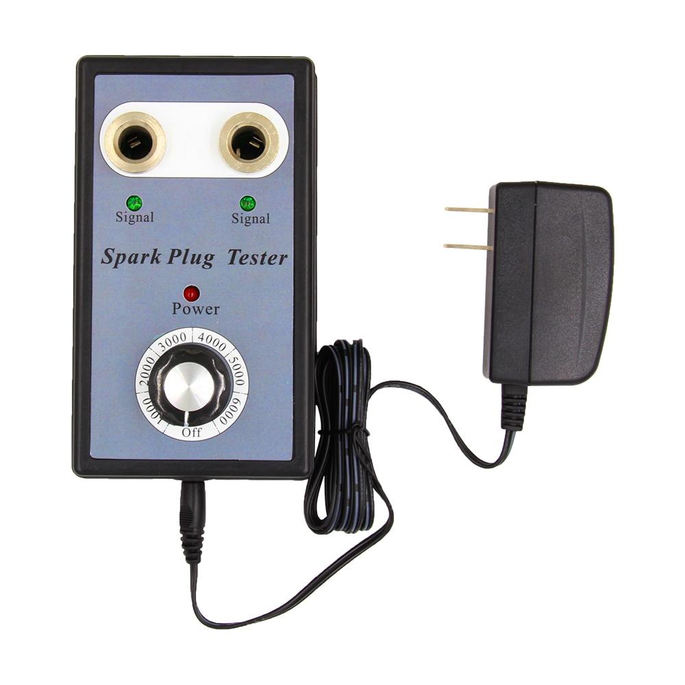 OBD2 автомобильное двойное отверстие автомобиля Свеча зажигания тестер зажигания Анализатор диагностический инструмент автомобиля Свеча зажигания тестер детектор две свечи зажигания