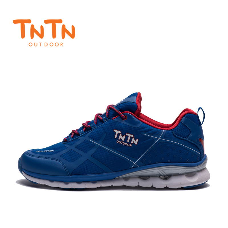 2017 TNTN Outdoor Autumn And Winter Shoes Men Breathable Mesh Cushioning Off-road Running Leisure Sports Shoes Men Shoes dreambox 2017 autumn and winter trends in europe and america woven leather breathable shoes in thick soled sports shoes men