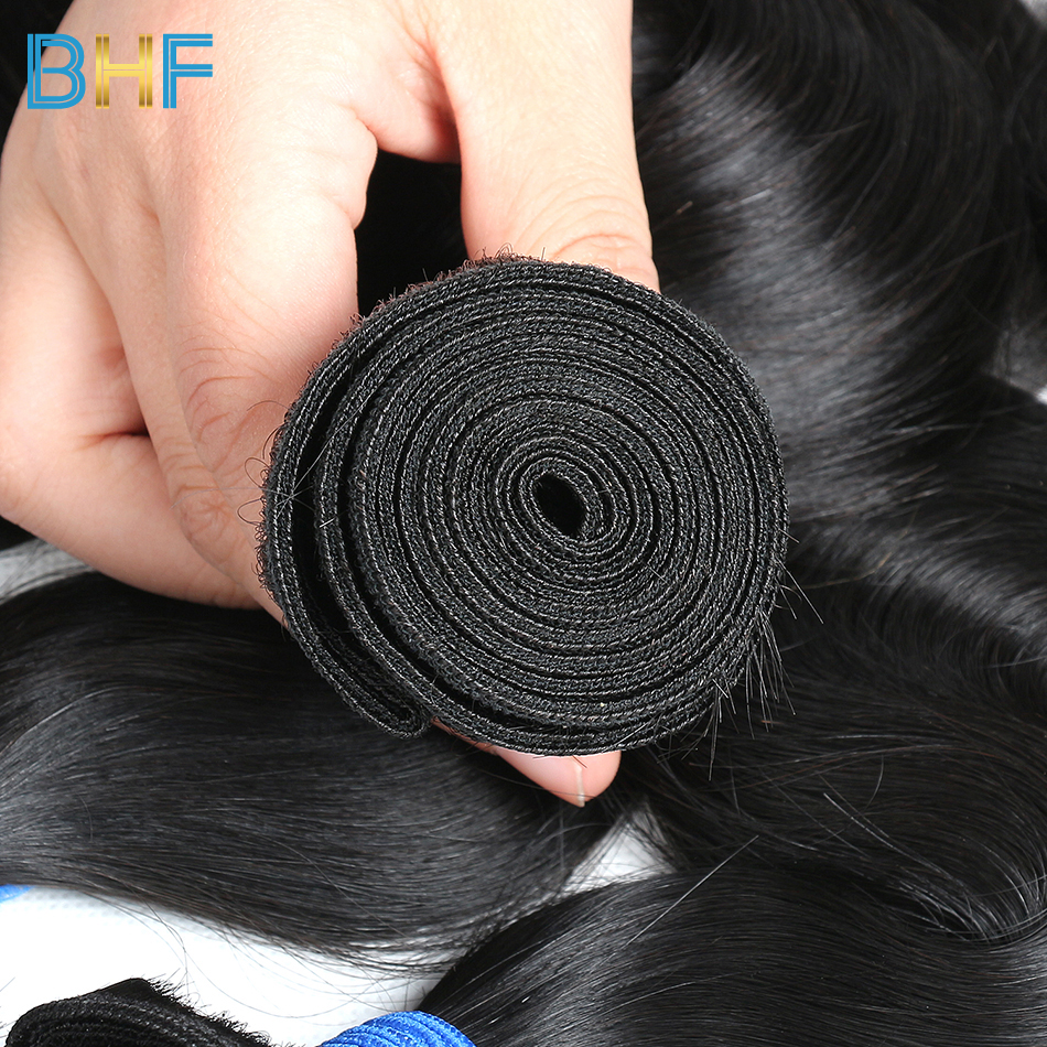 BHF Brazilian Body Wave 100% Human Hair Weave 10 Bundles Lot Virgin Brazilian Hair Weave Bundles Natural Color Wholesale Price