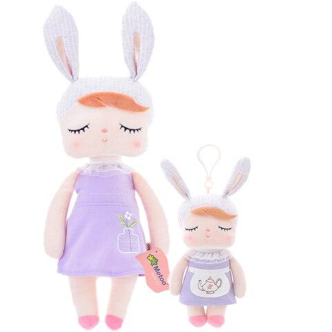 Metoo 2pcs Angela Rabbit Dolls Girl Baby Gift Plush Stuffed Gift Toys for Kids Children kawaii Brand New Pakistan