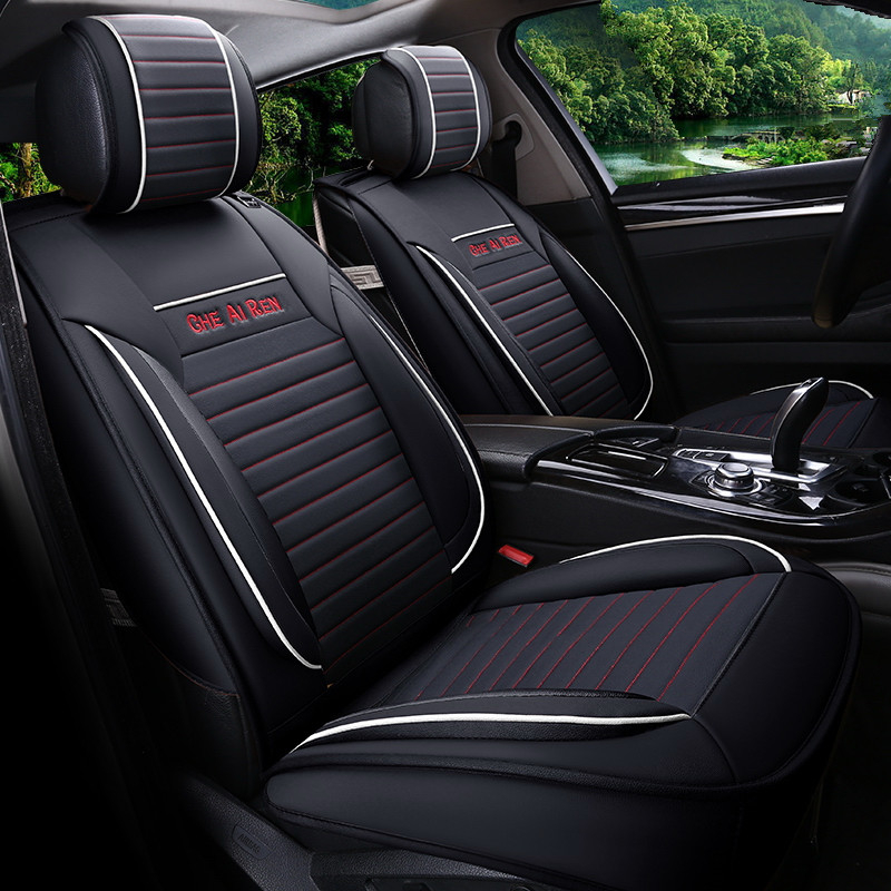 Car Styling Leather Seat Covers For Cadillac ATS L XTS CTS