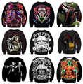 Women Men Harajuku Sweatshirts Long Sleeve Outerwear Star Wars Darth Vader 3D Sweatshirt Tracksuit Hoodies plus size S-3XL