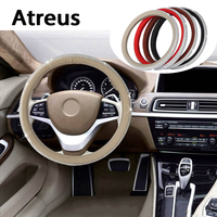 Atreus Diamond Car Steering Wheel Covers Rims Genuine Styling For Lexus Honda Civic Opel Astra H