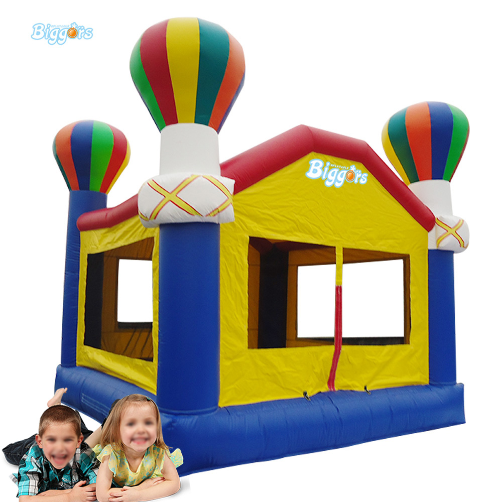 Small Hot Air Balloon Inflatable Bouncer Castle Trampoline for Sale ao058b 2m white pvc helium balioon inflatable sphere sky balloon for sale attractive inflatable funny helium printing air ball