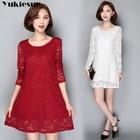 summer dress for women lace bodycon dress party maxi dresses women's A-Line long sleeve sexy club dresses white black Plus size