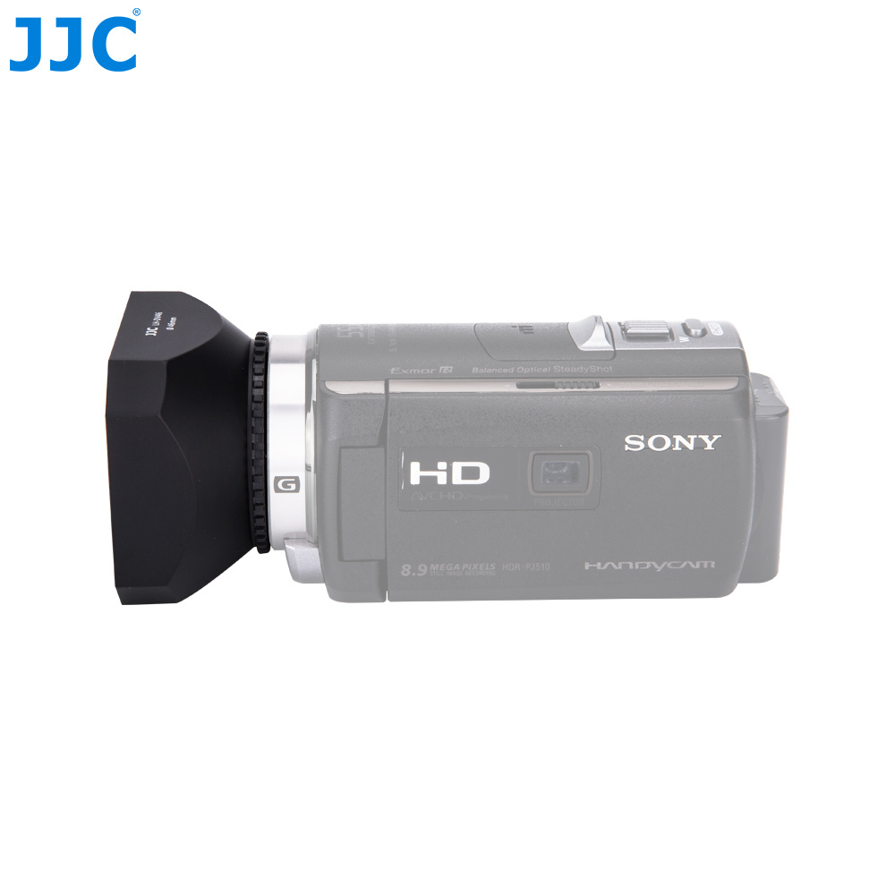 JJC 43mm Digital Video Lens Hood Canon HFR70 HFR72 HFR700 Camcorder HF R806