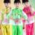 Nuevas Muchachas chino tradicional traje de la danza Niños trajes de ropa de baile ropa de baile yangko fan tambor de coro