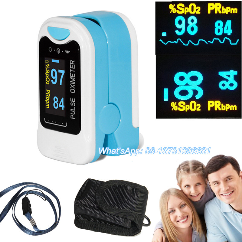 Newest Fingertip Pulse Oximeter Spo2 Monitor Pulse Rate Oxygen Heart Rate PR OLED China/USA Warehouse CMS50NA/CMS50M