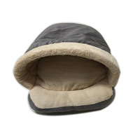 Venxuis Space Capsule Pet Dog Cat Bed House Foldable Pet Cozy Cave Bed Thermal Warm PP Cotton Dog Cat Sofa Cushion