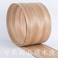 2pcs Lot L 2 5Meters Pcs Wide 150mm Thickness 0 52mm Zebra Natural Wood Veneer Decoration