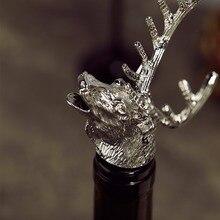 Deer Head Wine Bottle Pourer/Stopper