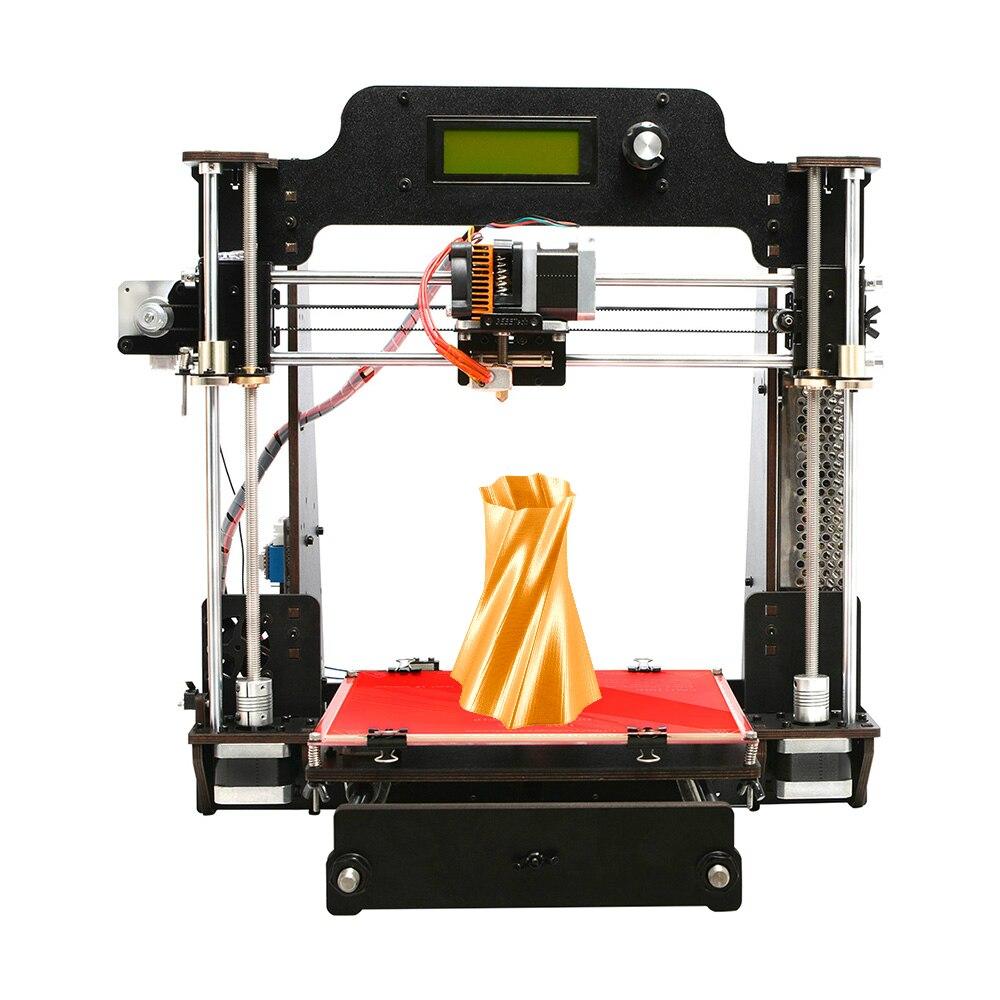 Geeetech imprimante 3D, en bois Prusa I3 Pro W bureau imprimante 3D kit de bricolage avec nuage WiFi, Support 3D Module WiFi, EasyPrint 3D App