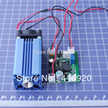 405nm 150mW Violet Purple Blue Laser Diode Dot Module 12VDC with TTL Good Cooling