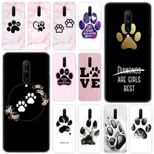 Hot best friends Dog paw Soft Silicone Fashion Transparent Case For OnePlus 7 Pro 5G 6 6T 5 5T 3 3T TPU Cover