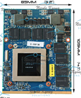 GTX 680M GTX680M 4G 6-77-P15EL-D21 VGA Video Card For Clevo X511 P150EM X8100 P570WM P180HM P370EM P150EM P151EM P170EM