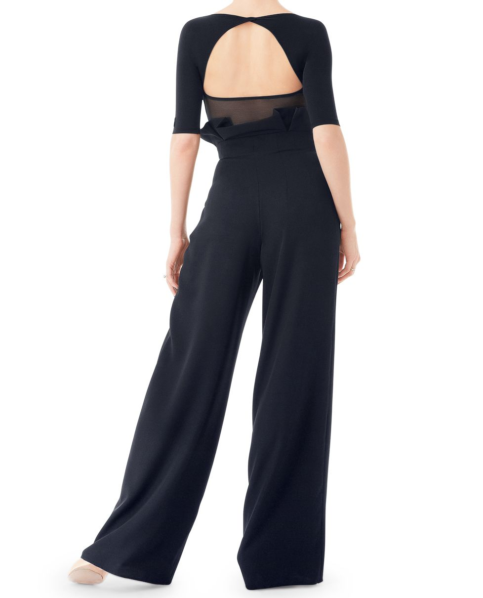 Picture of 2018 New Sexy Latin Dance Pants Black Square Dancing Ballroom Dance Pant Cha Cha Dance Dress Women Modern Dancetrousers