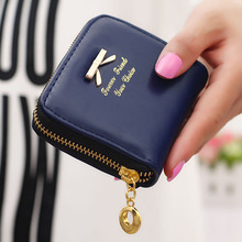Fashion Women Coin Purses Ladies Girls Bow Knot Pendant Zipper Leather Purse Wallet Money Card Holder Coin Bag #5