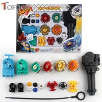 TOFOCO Original Package 1 Set Toupie Beyblade Hunter For Sale Metal Fusion 4D Launcher Spinning Top
