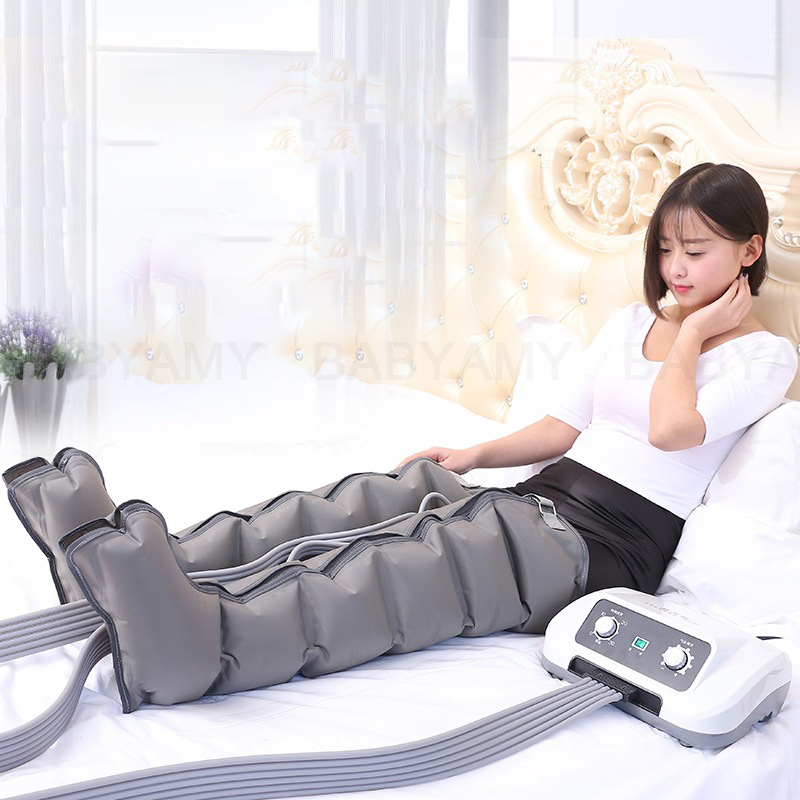Air Compression Leg Wraps Massager Circulation Leg Wraps Healthcare Foot Pneumatic Compression Massager for Relax lose