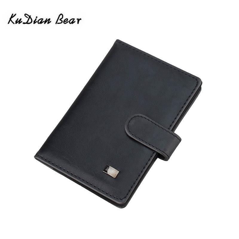 Kudian Bear Minimalist Passport Cover Designer