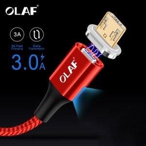 OLAF 3A LED Magnetic USB Charg