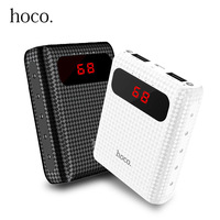 HOCO 20000mAh Power Bank For Xiaomi Mi Ultra Slim Portable External Battery Charger 10000 MAh For