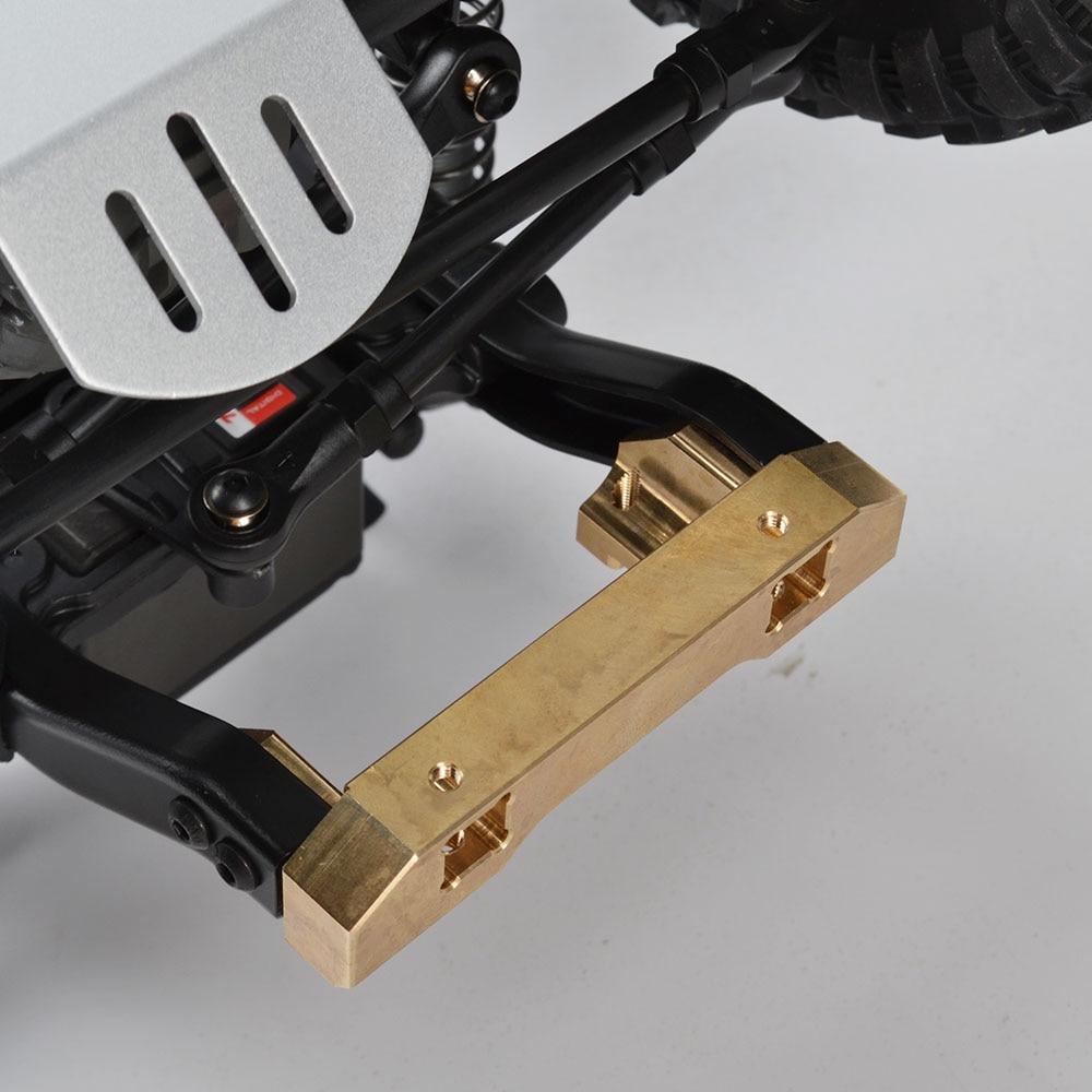 Image 5 - RCAIDONG 1/10 RC TRX4 крепление переднего бампера сервопривод крепление для перемещения для Traxxas trx 4 8237 обновленные части-in Детали и аксессуары from Игрушки и хобби