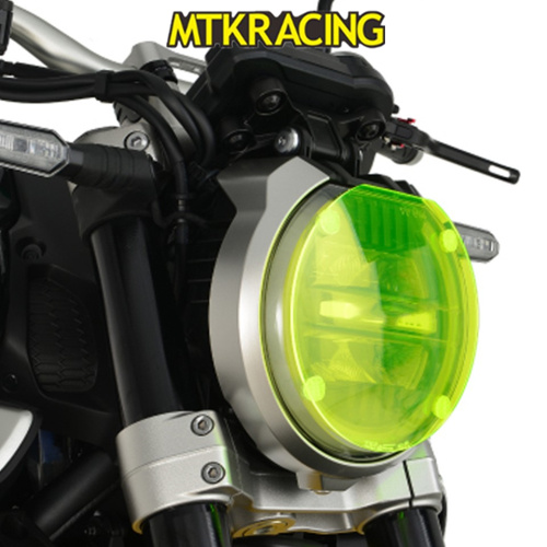 MTKRACING Acrylic Front Headlight Cover Screen Shot For Honda CB1000R CB650R CB 1000R CB 650R 2018-2019