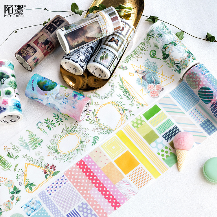 10cmx5m Kawaii Vintage Decorative Paper Planner Stamps Washi Tape Stickers Scrapbooking Japanese Stationery School Supplies комбинезон хаки zadig