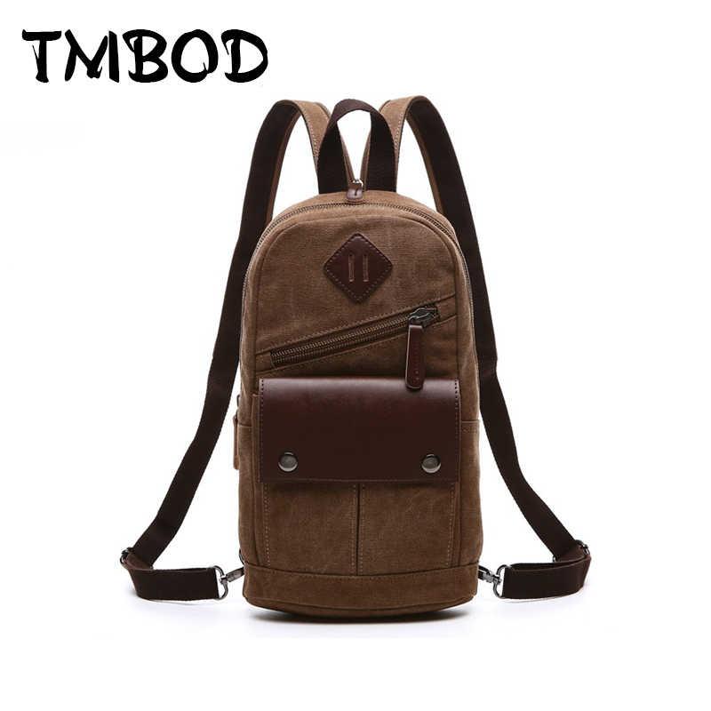 2939a7428 Nueva moda 2019 hombres Vintage mochila de lona de las mujeres Bolsas de  viaje para hombre