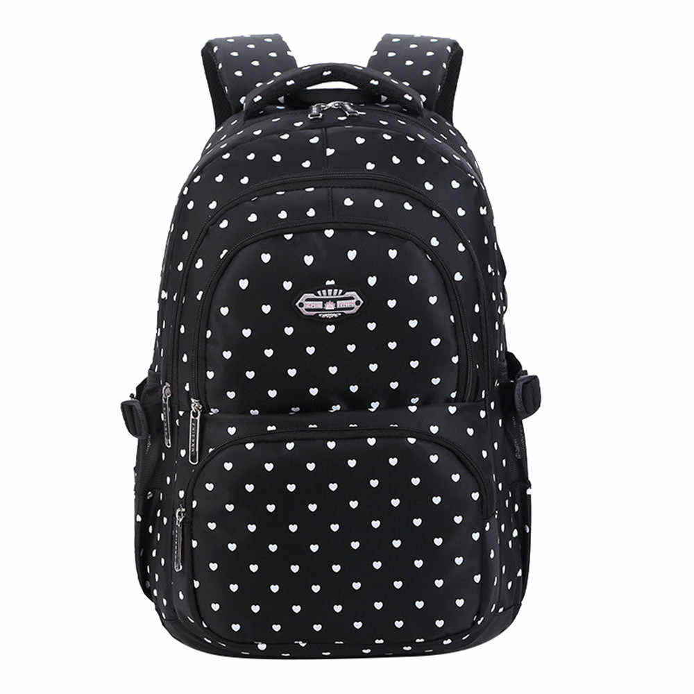 Mochila escolar de moda para niñas adolescentes mochilas escolares para niños bolsas de bebé mochilas ortopédicas mochilas de viaje para ordenador portátil para adolescentes
