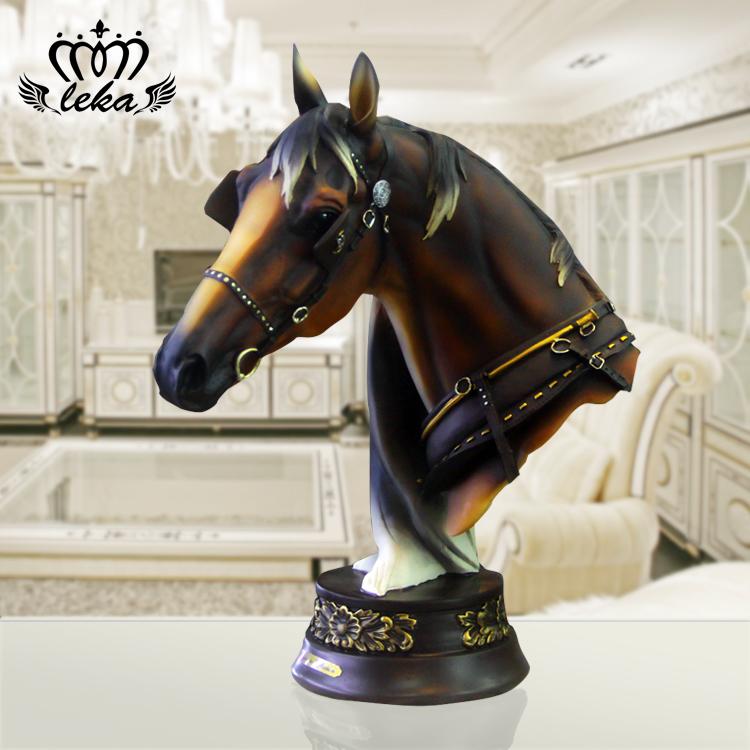 grabado de la mano de obra el caballo joyera adornos muebles para el hogar creativo saln
