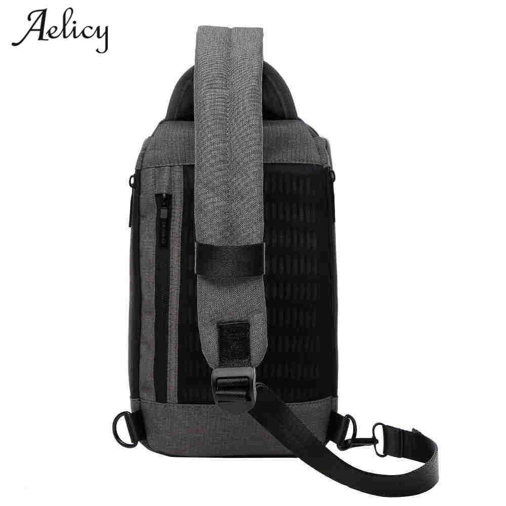 Chest Pack Multifunctional Men Messenger Bags Casual Travel Male Small Retro Man Military Shoulder Bag