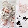 2016 Hot Sale Bathrobe Kids Roupao New Arrival Baby's Cute Comfortable Sleepwea, Children's Cartoon Household Hooded Bath Robe