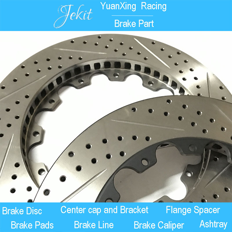 Jekit ventilated disc brake 330*28mm car rotors for BMW 328i wheel rim 17'' for JK9200 brake calipers