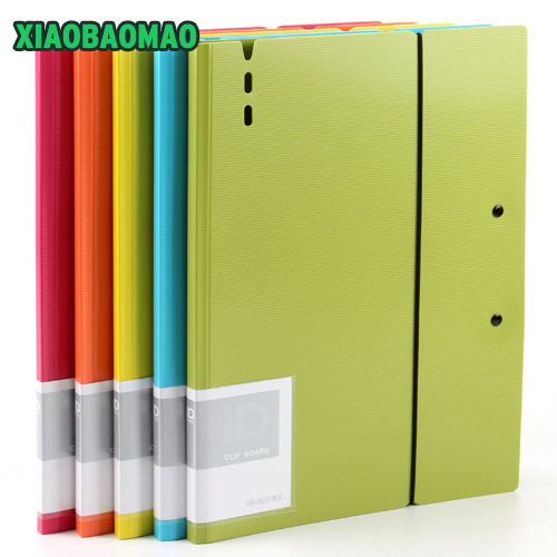 A3 Clip File Folder Board Professional File Folder Clip Office School Supplies Filing Product File Folder Waterproof XLG812 m&g a4 single clip transparent two page file sleeve l type folder file bag office supplies 30pcs