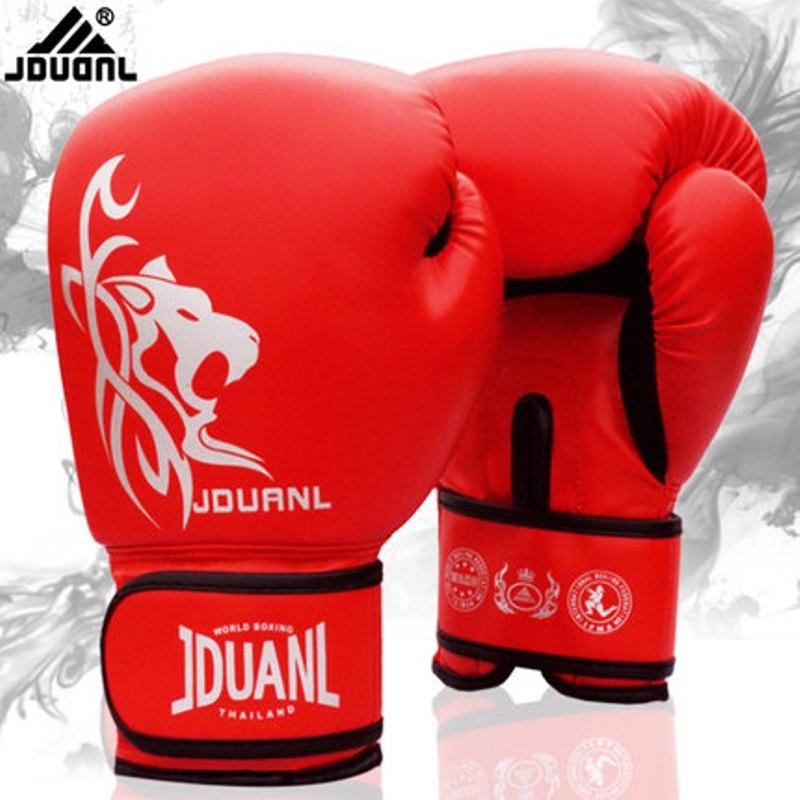 9f7894dba Muay Thai Boxing Gloves Male Female 10 oz PU Sanda Kungfu Wushu Glove Women  Men Fighting Sandbag Training luvas boxeo Guantes on Aliexpress.com