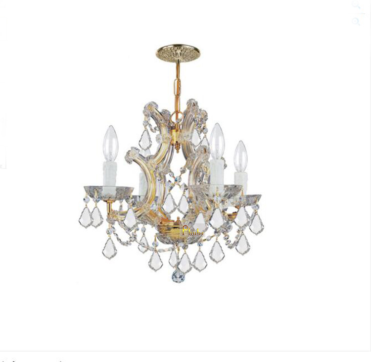 купить Phube Lighting Maria Theresa K9 Crystal Chandelier Lighting Gold / Chrome Chandelier Light Lighting+Free shipping по цене 13074.56 рублей