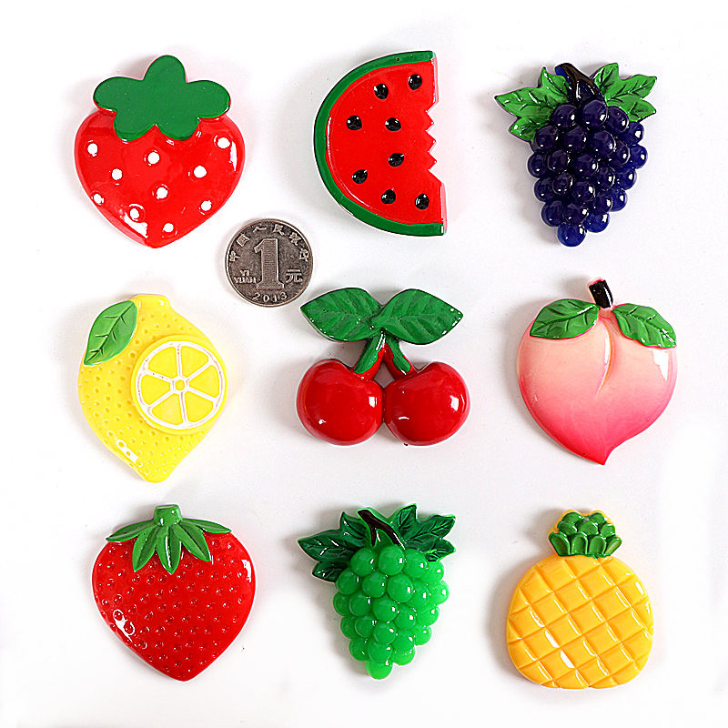 Jia-gui luo Cartoon cute ice cream fruit fridge magnet
