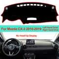 Auto Innere Dashboard Abdeckung Dash Matte Teppich Kissen Sonne Schatten Für Mazda CX-3 CX3 2016 2017 2018 2019 LHD RHD dash Board DashMat