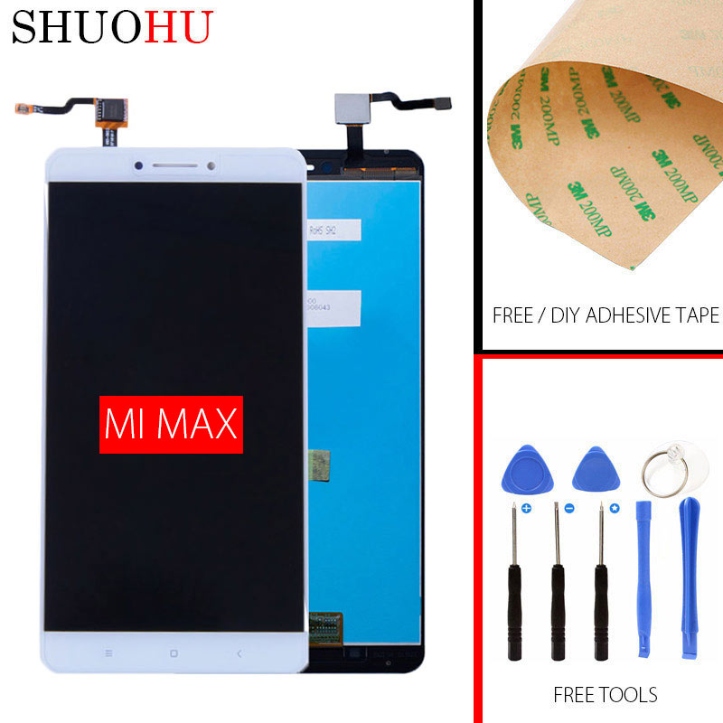 Qualidade AAA Tested LCD Screen 6 44 inch For Xiaomi MAX LCD Display and Touch Screen