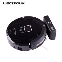 LIECTROUX A335 Multifunction Vacuum Cleaning Robot Sweep Suction Mop Sterilize LCD Schedule Virtual Blocker Self Charge