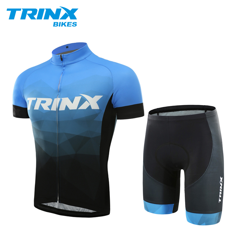 US $59 98 |TRINX Men's Summer Cycling Jersey Sets Breathable Quick day MTB  Bicycle Cycling Clothings Sport Bike Short Sleeves Jersey-in Cycling Sets