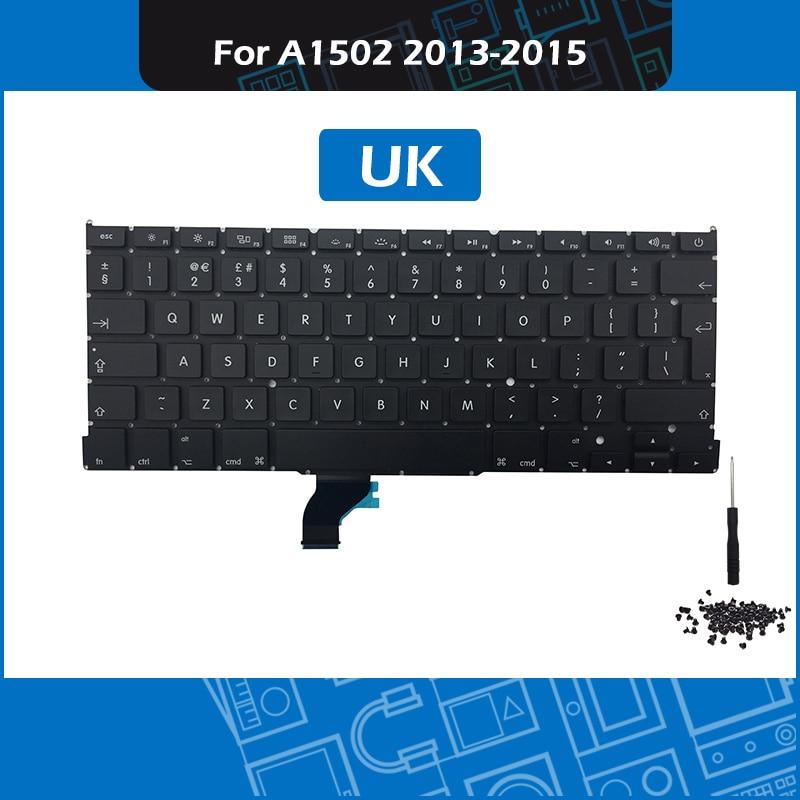"Turkey Turkish Keyboard Backlight For Macbook Pro 15/"" Retina A1398 2012-2015"