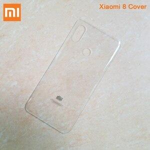 Image 5 - XIAOMI Original Glass Battery Rear Case For Xiaomi 8 MI8 M8 8SE Mi 8 Back Battery Cover Phone Battery Backshell Back Cases