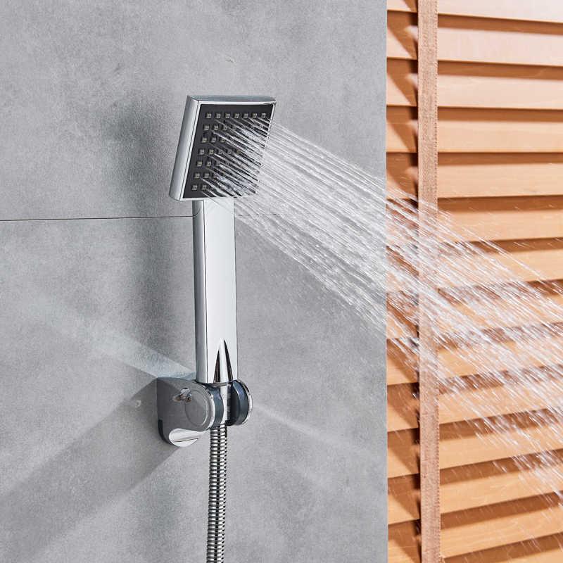 Krom termostatik duş musluk banyo termostatik karıştırıcı sıcak ve soğuk banyo mikser karıştırma vanası küvet musluk