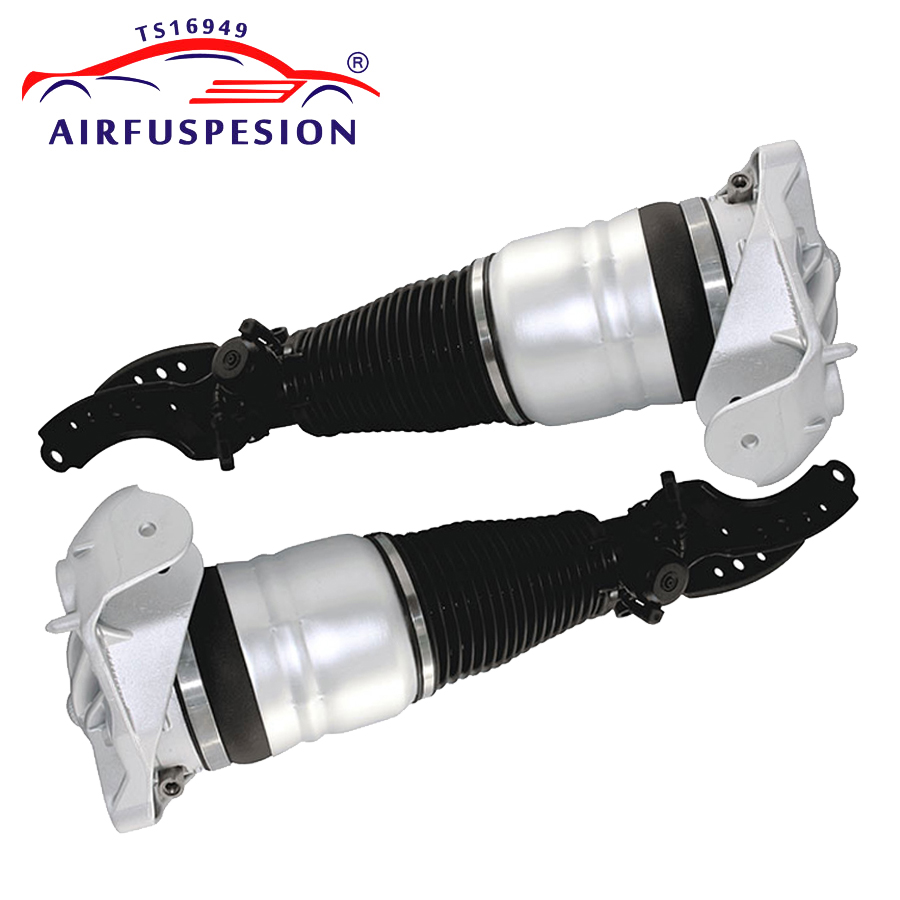 pair Front air Suspension shock absorber for Porsche Cayenne Audi Q7 VW Touareg Air Spring Bag 7L6616404B 7L8616040D 95535840420