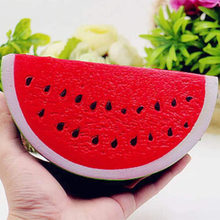 JETTING Kawaii Antistress Squishy Watermelon Super Slow Rising Squeeze Stretch Bread Cake Kid Toy Gifts Mobile Phone Strapes(China)