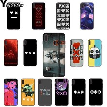 Yinuoda love death and robots Colorful Cute Phone Accessories Case for Apple iPhone 8 7 6 6S Plus X XS MAX 5 5S SE XR Cover